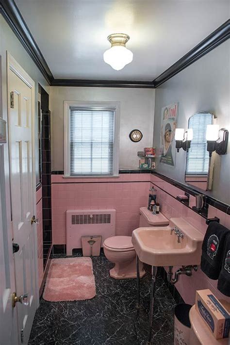 retro pink bathroom ideas 36 retro pink bathroom tile ideas and pictures