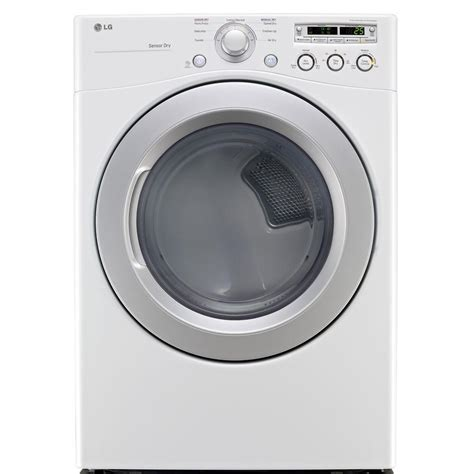 lg electronics 7 3 cu ft gas dryer in white dlg3051w