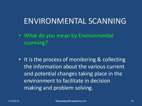 What Does Mba On Scanner by Business Environment 1 St Module Mba Management
