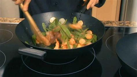 Helen Chen Episode 5 Non Stick Wok Demo Helen S Asian Helen S Asian Kitchen