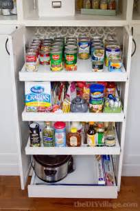 pantry drawers: just in case we need to adjust a shelf height the outer lower