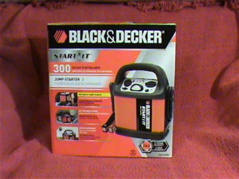 black and decker start it richdavis101 black decker start it 300a jump starter