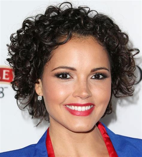 women curly haircuts for latina susie castillo s short curly hairstyle lovely yet sassy