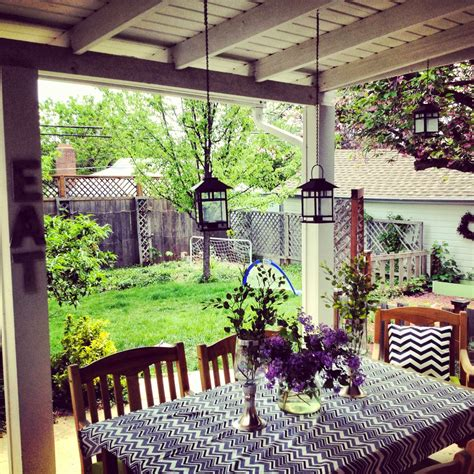 patio home decor small back porch decorating ideas for houses scenery