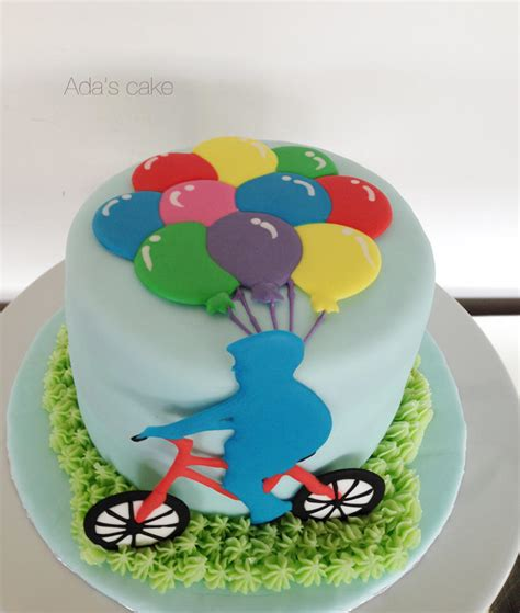 Balloons  Ee  Boy Ee   On A Bicycle Okiennection