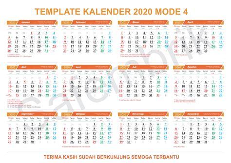 template kalender  format coreldraw safembriks