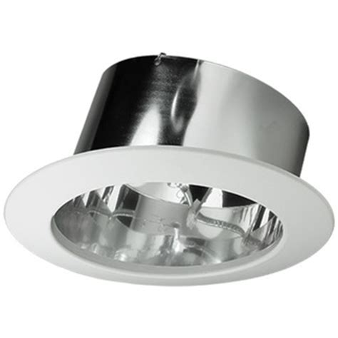 Light Fixture For Sloped Ceiling by Nora Nts 615c 6 In Chrome Slope Ceiling Reflector