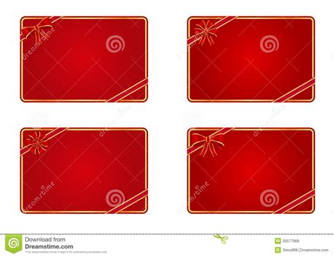 Blank Gift Cards - blank gift cards royalty free stock photos image 20577968