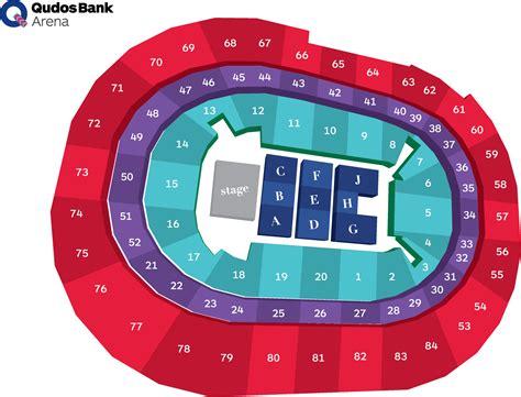 seat bank seat section search qudos bank arena