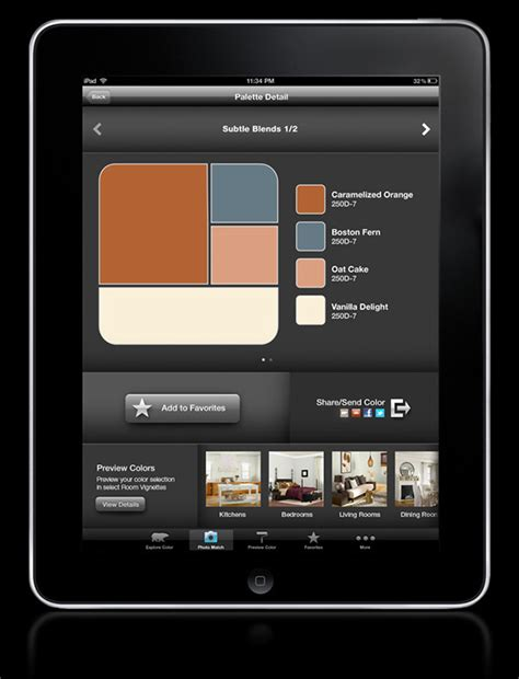 behr colorsmart app on app design served
