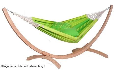 hängemattengestell holz wetterfest h 228 ngemattenst 228 nder aus zertifiziertem fsc holz massivholz