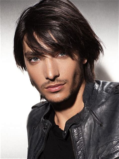 boys shag haircut straight hair shag hairstyles for men