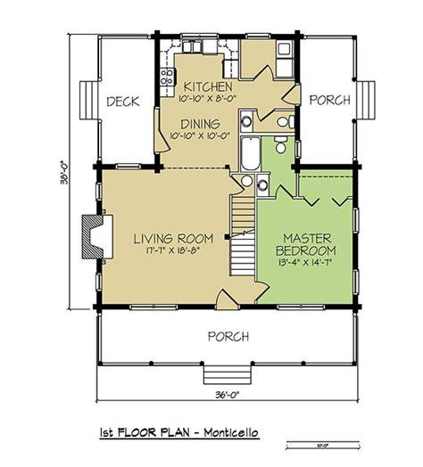 Monticello House Plans Monticello