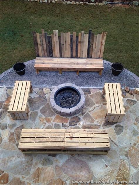 furniture made with reused wood pallets pallet wood projects