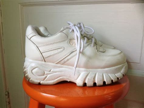 The Spice Are Backand Not A Platform Trainer In Sight by Hella 90s Wanted Chunky Platform Club Kid 90s
