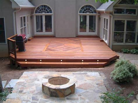 Wood Deck Ideas Plans