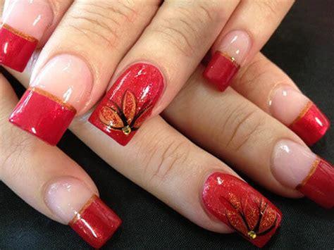 imagenes de uñas pintadas de color rojo 67 fotos de u 241 as color rojo red nails decoraci 243 n de