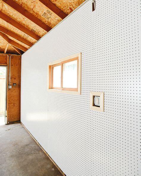 pegboard   garage interior garage walls