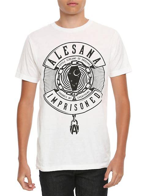 Alesana 1 T Shirt Size S alesana imprisoned t shirt topic