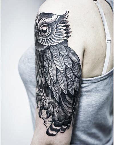 black owl tattoo east atlanta 42 best owl tattoos black and white images on pinterest