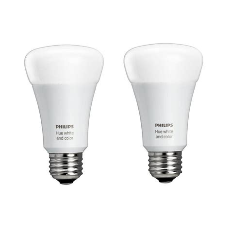 philips hue fan bulbs philips hue white and color ambiance 60 watt equivalent