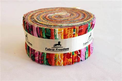 Jelly Roll Patchwork - 100 cotton jelly rolls patterned patchwork strips craft