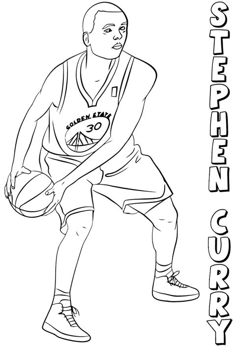 coloring pages nba warriors free printable nba coloring pages national basketball