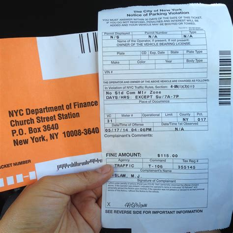 pay light ticket nyc lesson of the day 6 you never what might happen if