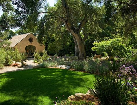 oak landscaping landscaping oak trees landscape traditional with flagstone path moss rocks flagstone path