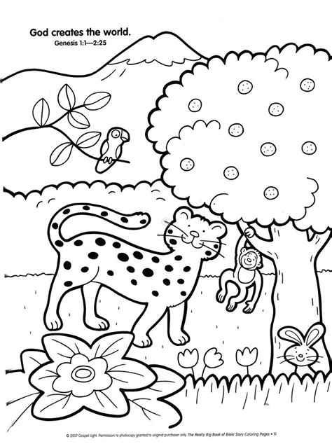 Bible Story Coloring Book by Creation Story Coloring Pages Az Coloring Pages