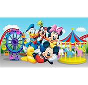 Daisy Duck Goofy Mickey And Minnie Mouse In Luna Park Full