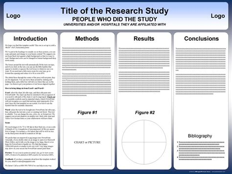 professional a3 templates for project poster presentation