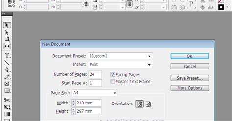 tutorial layout buku indesign cara membuat layout majalah sederhana dengan indesign