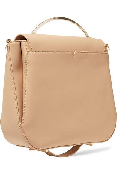Eddie Leather Shoulder Bag eddie borgo pepper saddle matte leather shoulder bag