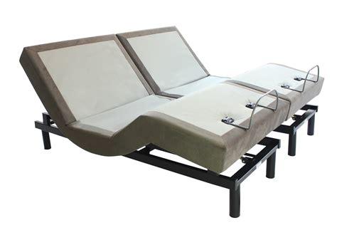 split california king adjustable bed cal king 10 quot comfort gel mattress with adjustable massage