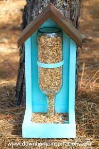 How To Make Bird Feeders With how to make a wine bottle bird feeder home inspiration