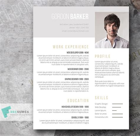 creative resume template word doc 21 stunning creative resume templates