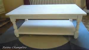nouveau look pour table basse patine ch 234 tre