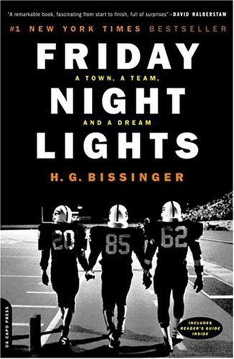 Friday Night Lights Football Team by Friday Night Lights By H G Bissinger Books I Ve Read