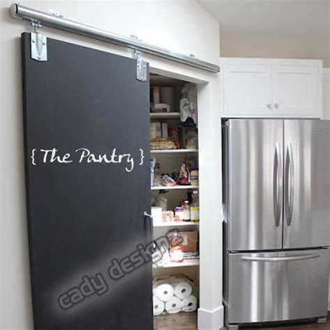 kitchen wall decal pantry door sticker label