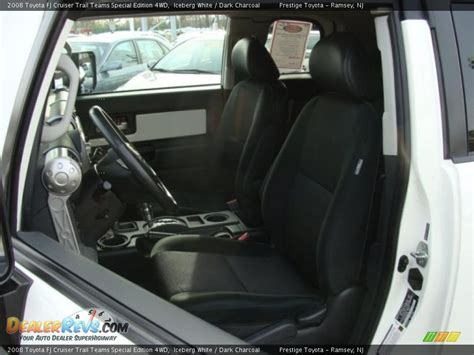 2008 Fj Cruiser Interior by Charcoal Interior 2008 Toyota Fj Cruiser Trail Teams Special Edition 4wd Photo 8