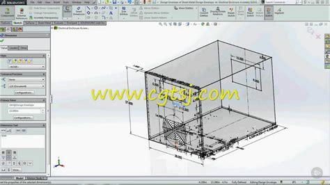 sketch driven pattern assembly solidworks solidworks钣金草图外壳装配设计视频教程