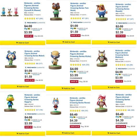 Ultra cheap Animal Crossing Amiibo at Best Buy right now