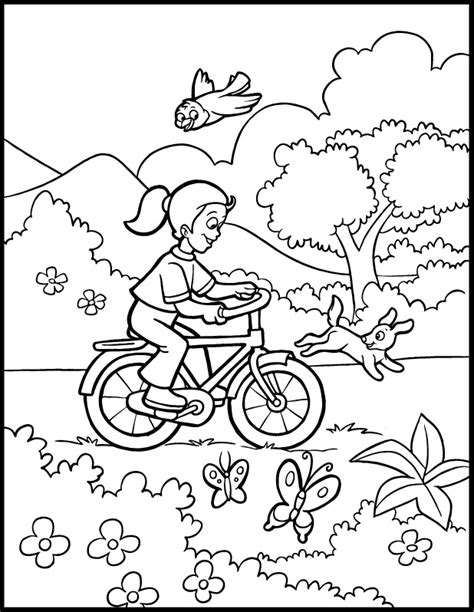 spring house coloring pages free spring coloring pages coloring home
