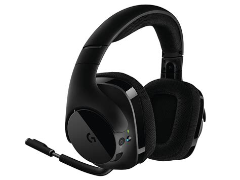 Headset Logitech G533 logitech unveils the logitech g533 wireless gaming headset capsule computers