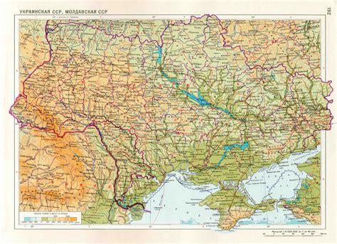physical map of ukraine index of country europe ukraine maps