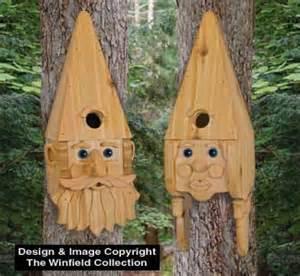 cedar bird house plans new featured items cedar gnome couple birdhouse plans