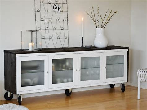 ikea hack sideboard diy ikea hack bonde sideboard dining room pinterest