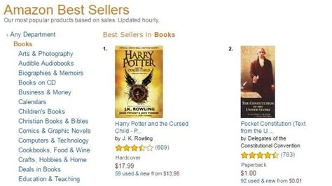amazon top sellers u s constitution becomes best seller after dnc speech