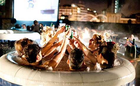 Bathtub Cinema tub cinema